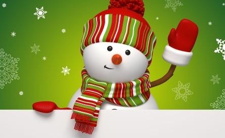 Поздравляем всех с наступающим Новым годом и Рождеством!